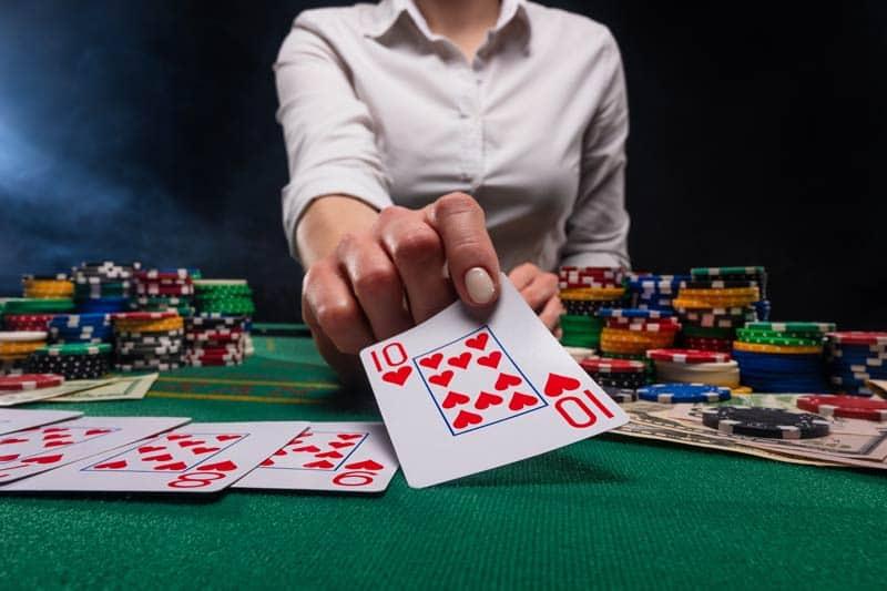 Poker game Texas Holdem